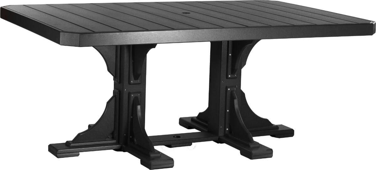 Black Stockton Outdoor Dining Table