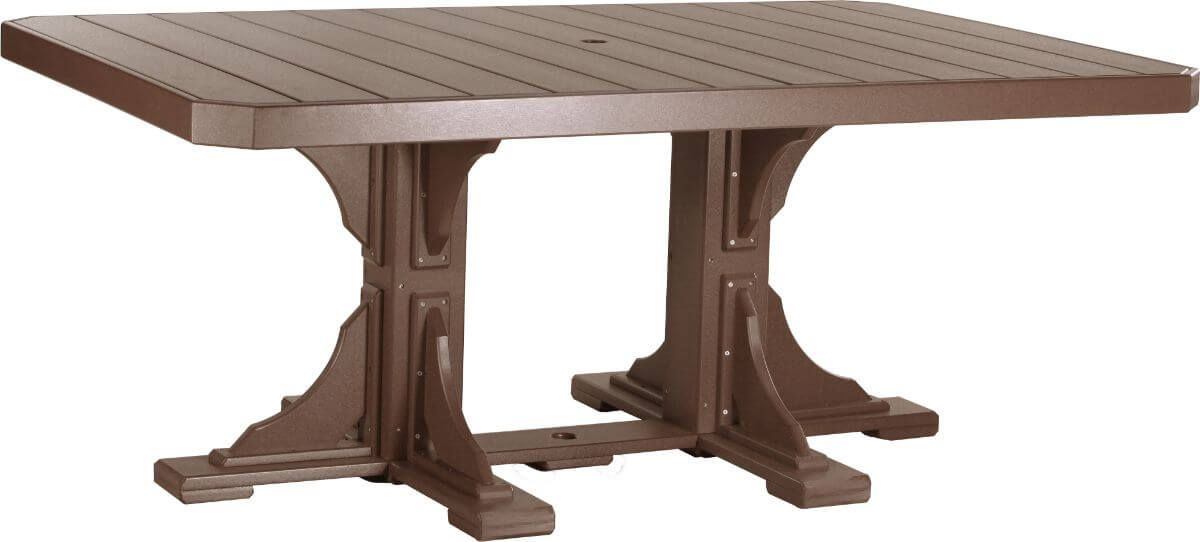 Chestnut Brown Stockton Outdoor Dining Table