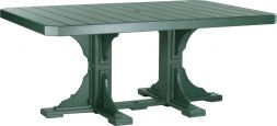 Green Stockton Outdoor Dining Table