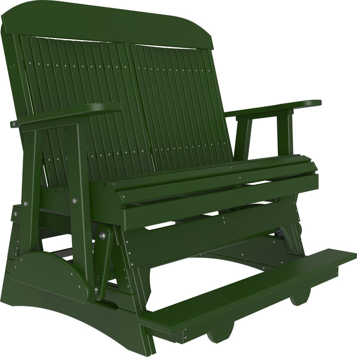Green Stockton Loveseat Balcony Glider