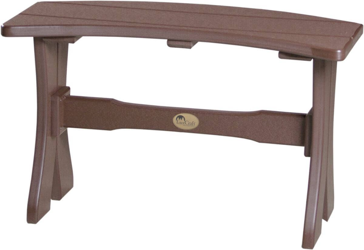 Chestnut Brown Stockton Outdoor Dining Bench