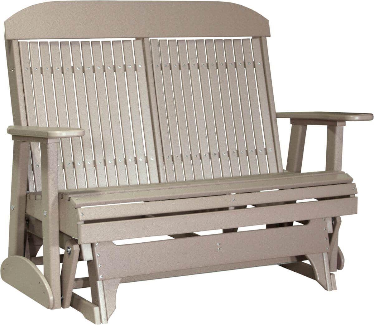 Weatherwood Stockton Outdoor Glider Bench