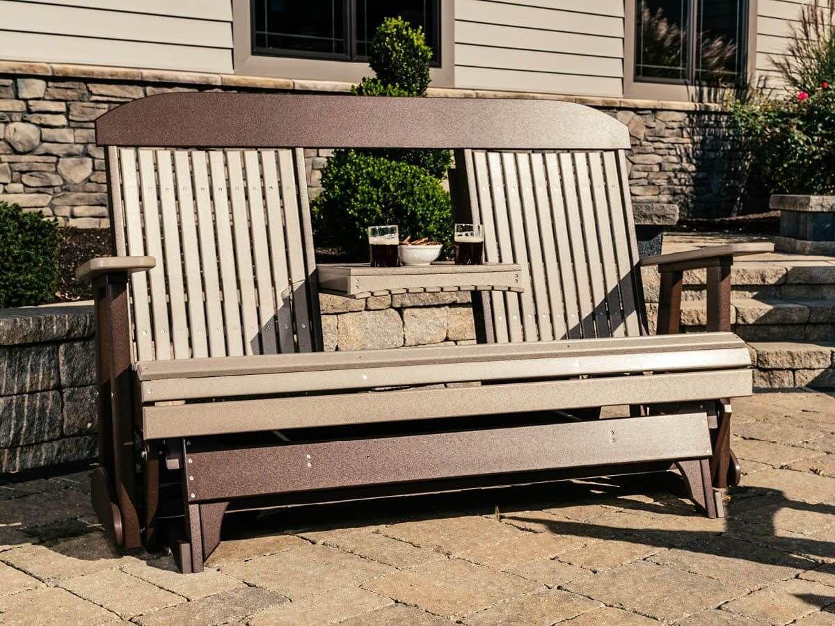 Stockton Outdoor Glider Bench