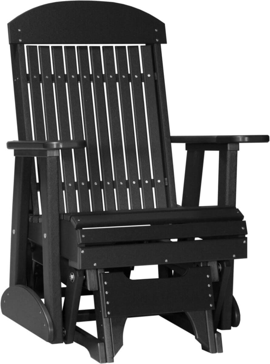 Black Stockton Outdoor Glider