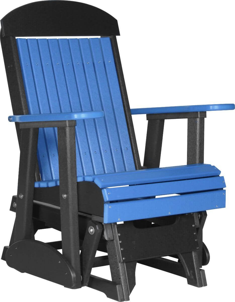 Blue Stockton Outdoor Glider