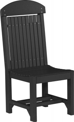 Black Stockton Outdoor Dining Chair