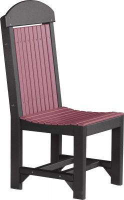 Cherrywood and Black Stockton Outdoor Dining Chair