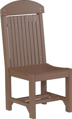 Chestnut Brown Stockton Outdoor Dining Chair