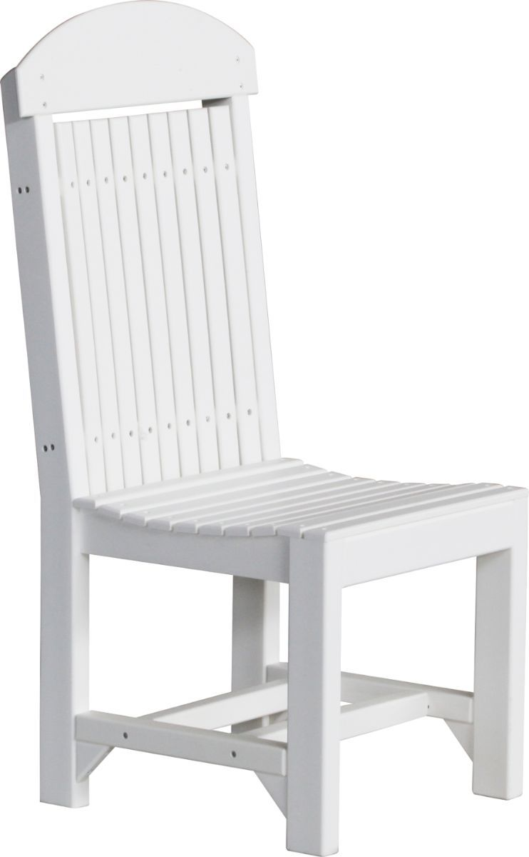 White Stockton Outdoor Dining Chair