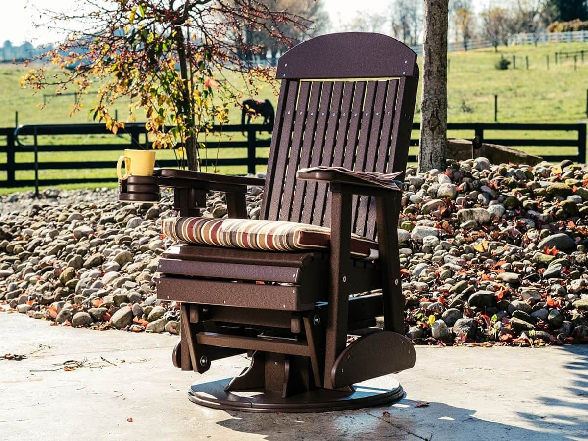 Stockton Outdoor Swivel Glider