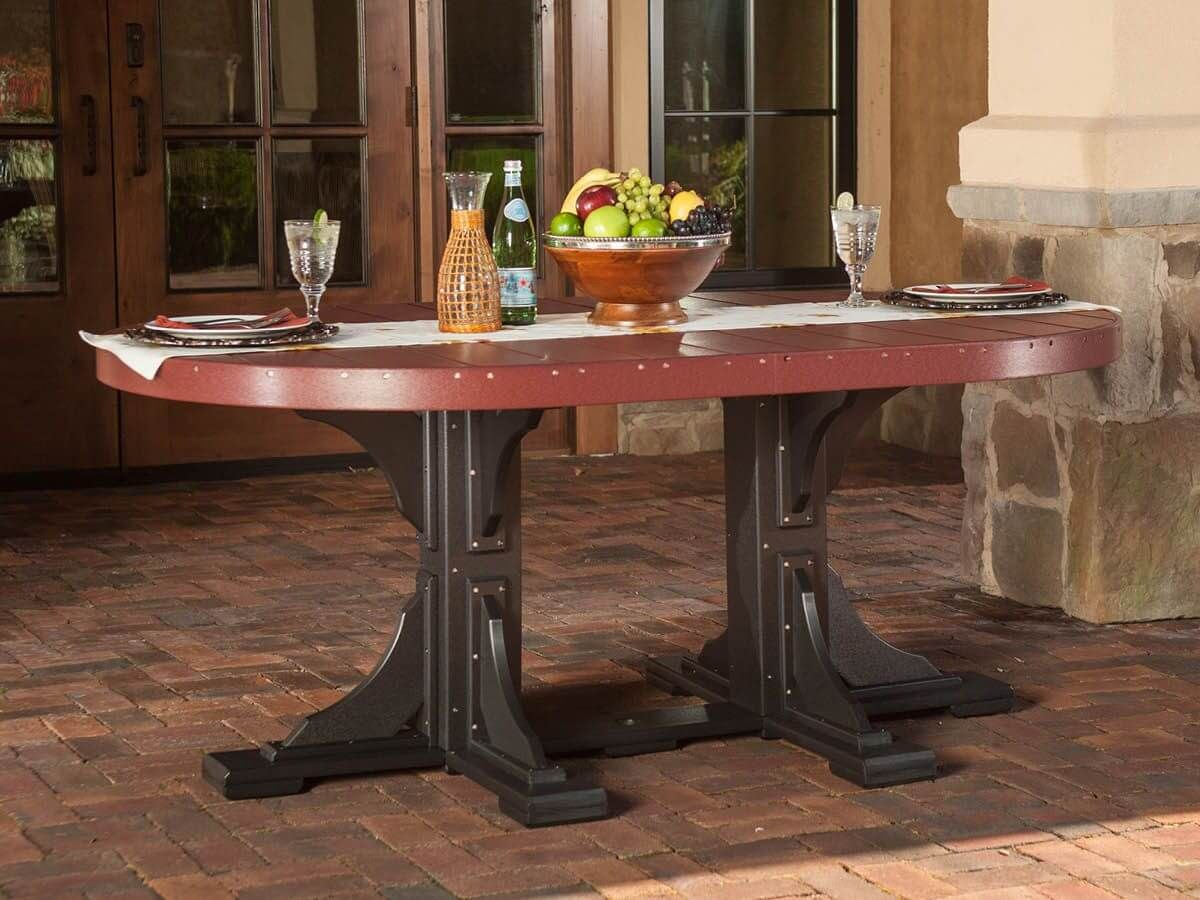 Stockton Outdoor Oval Dining Table