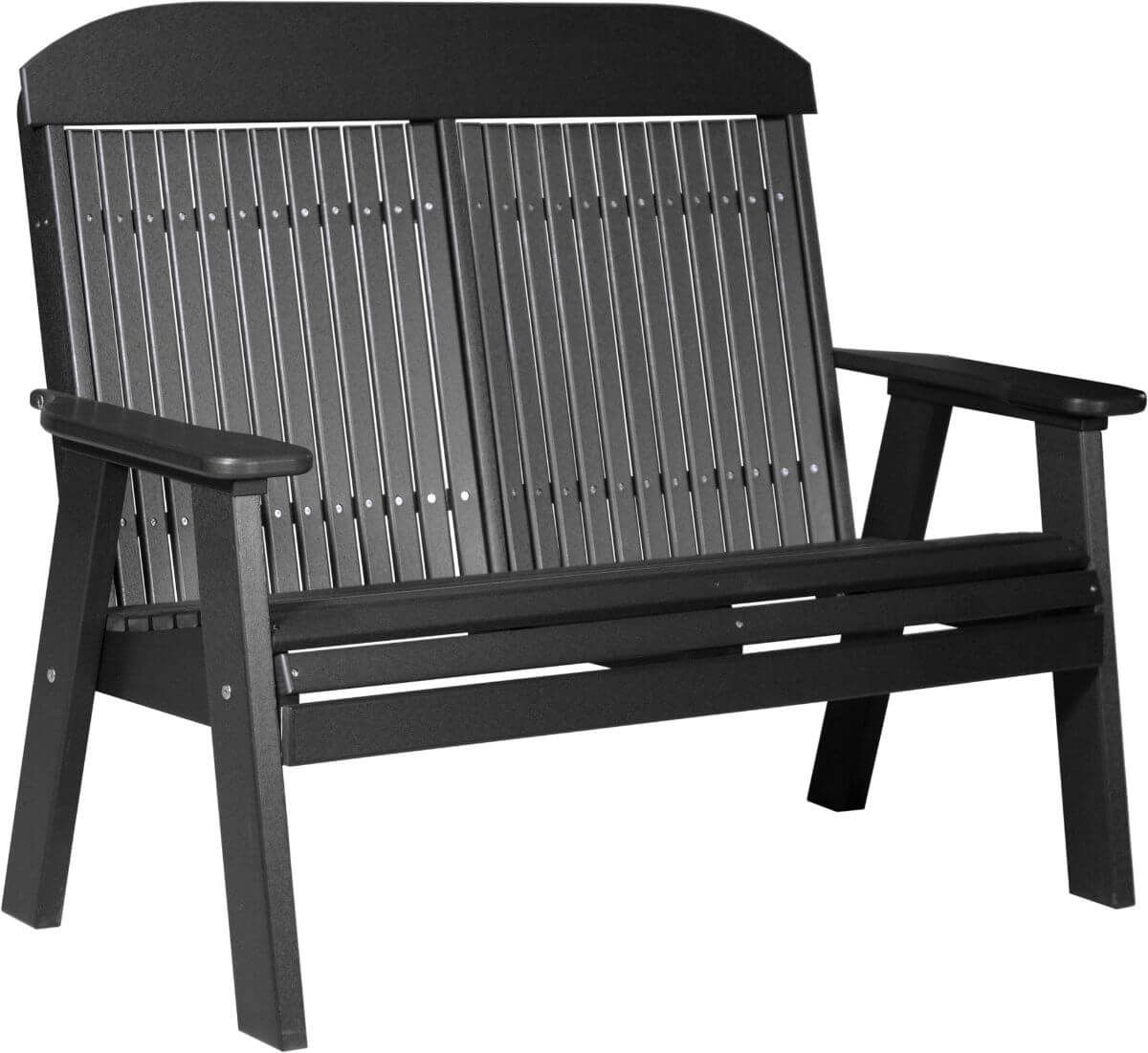Black Stockton Patio Bench