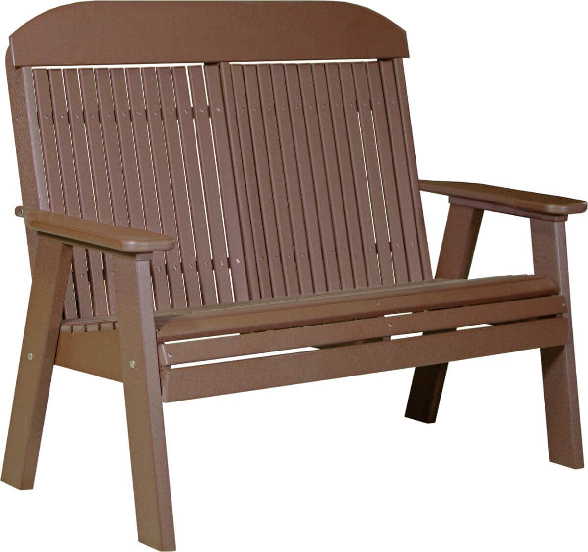 Chestnut Brown Stockton Patio Bench