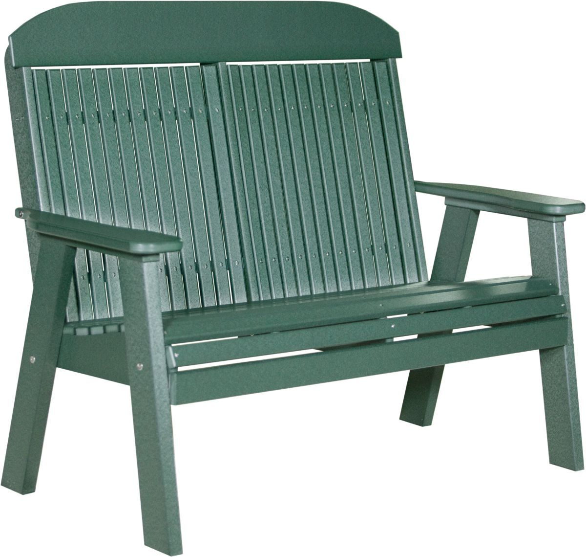 Green Stockton Patio Bench