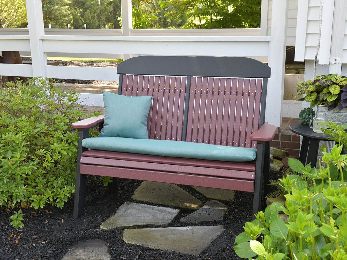 Patio Bench with Cushion