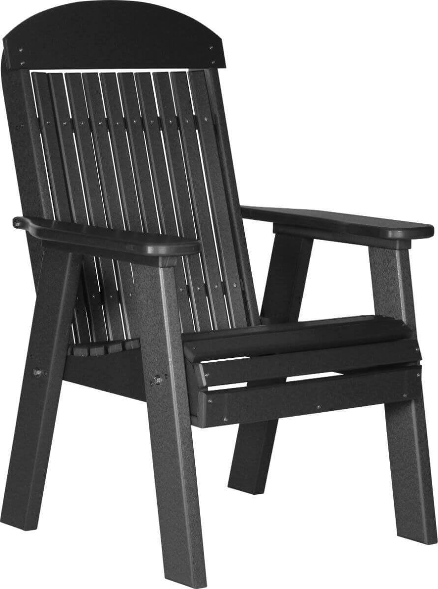 Black Stockton Patio Chair