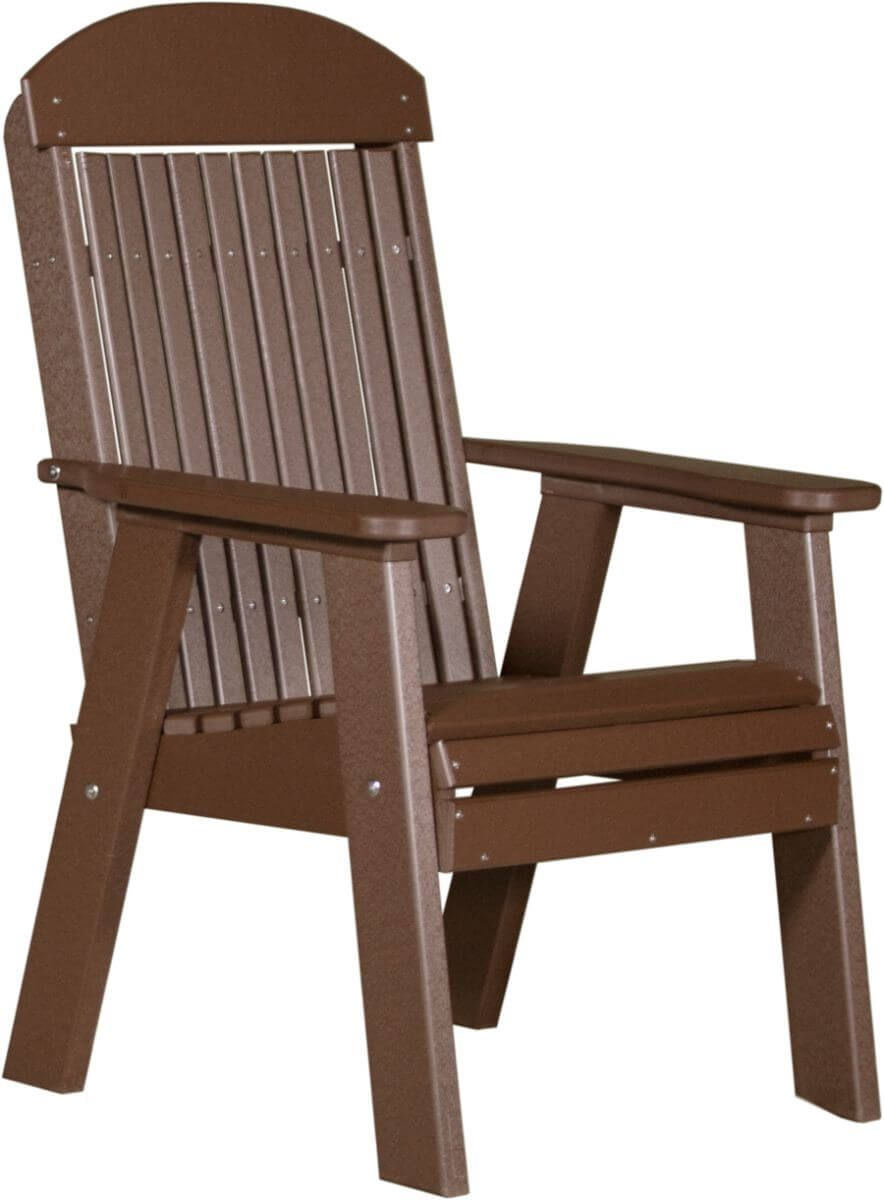 Chestnut Brown Stockton Patio Chair
