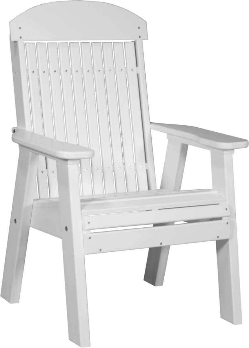 White Stockton Patio Chair