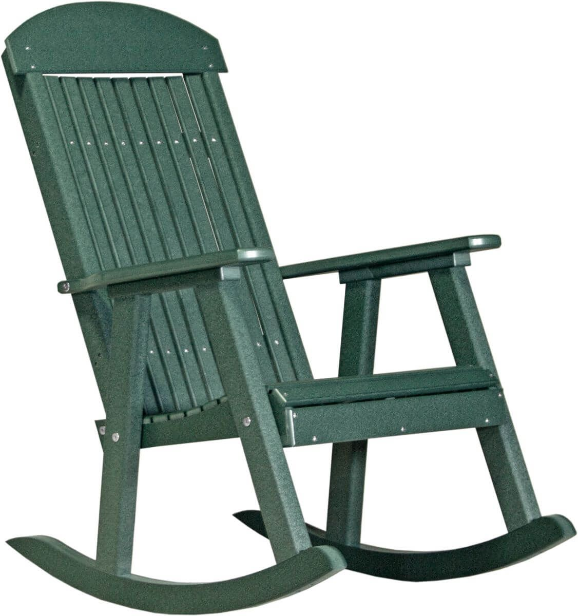 Green Stockton Porch Rocker