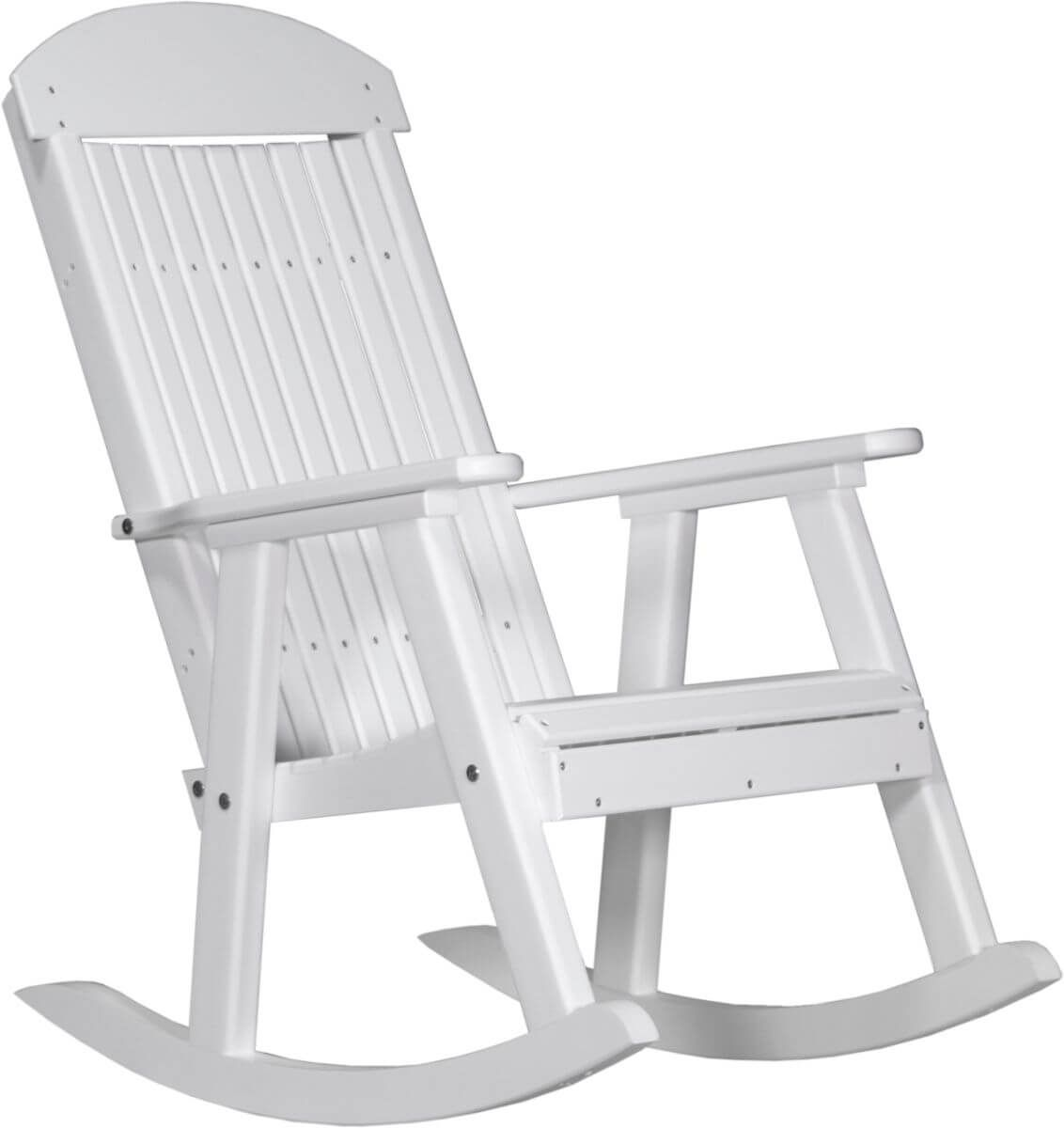 White Stockton Porch Rocker
