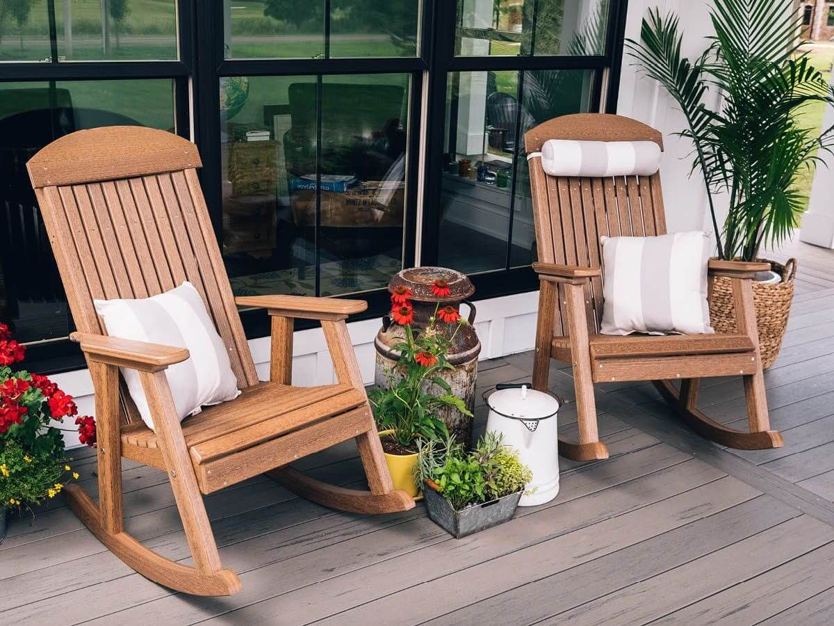 Eco-Friendly Outdoor Rockers