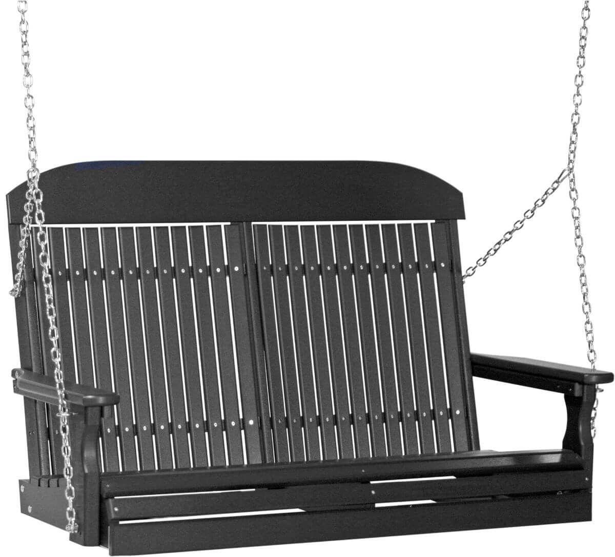 Black Stockton Porch Swing