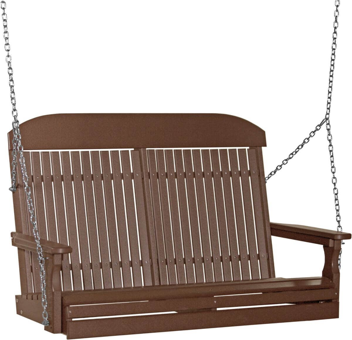 Chestnut Brown Stockton Porch Swing