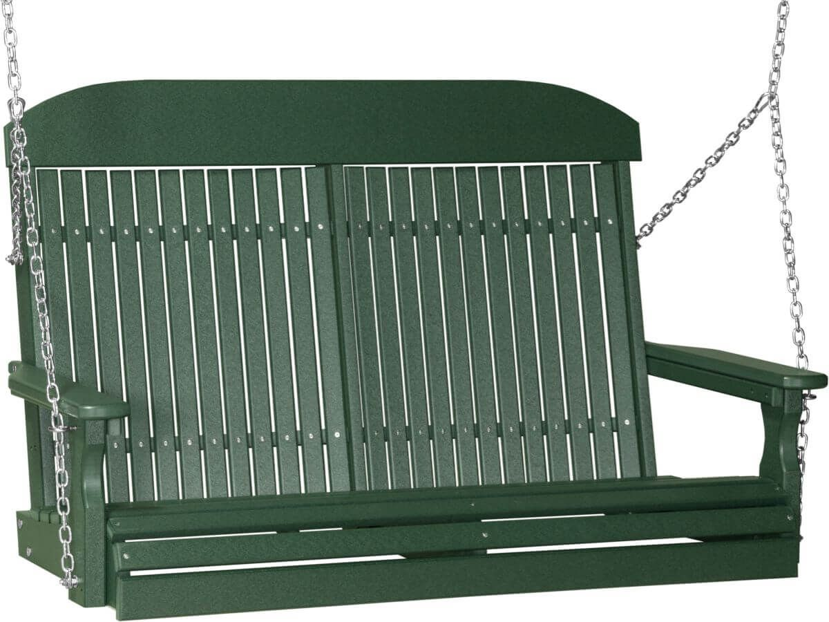 Green Stockton Porch Swing