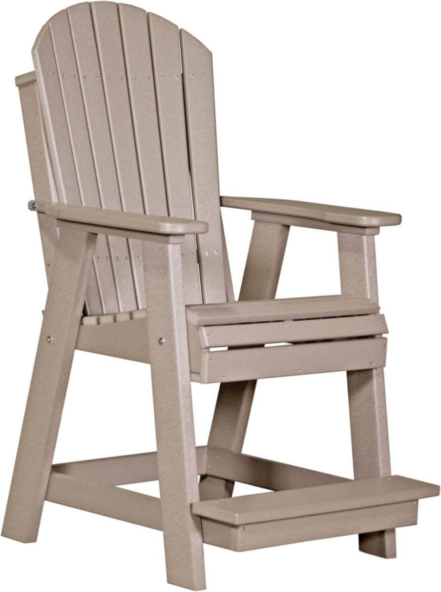 Weatherwood Tahiti Adirondack Balcony Chair