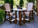 Tahiti Outdoor Bar Table and Chairs