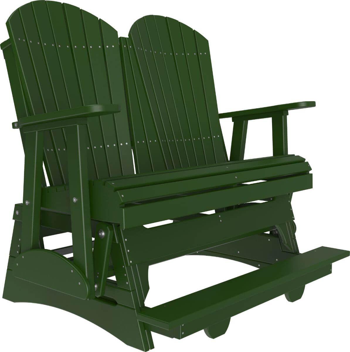 Green Tahiti Loveseat Balcony Glider