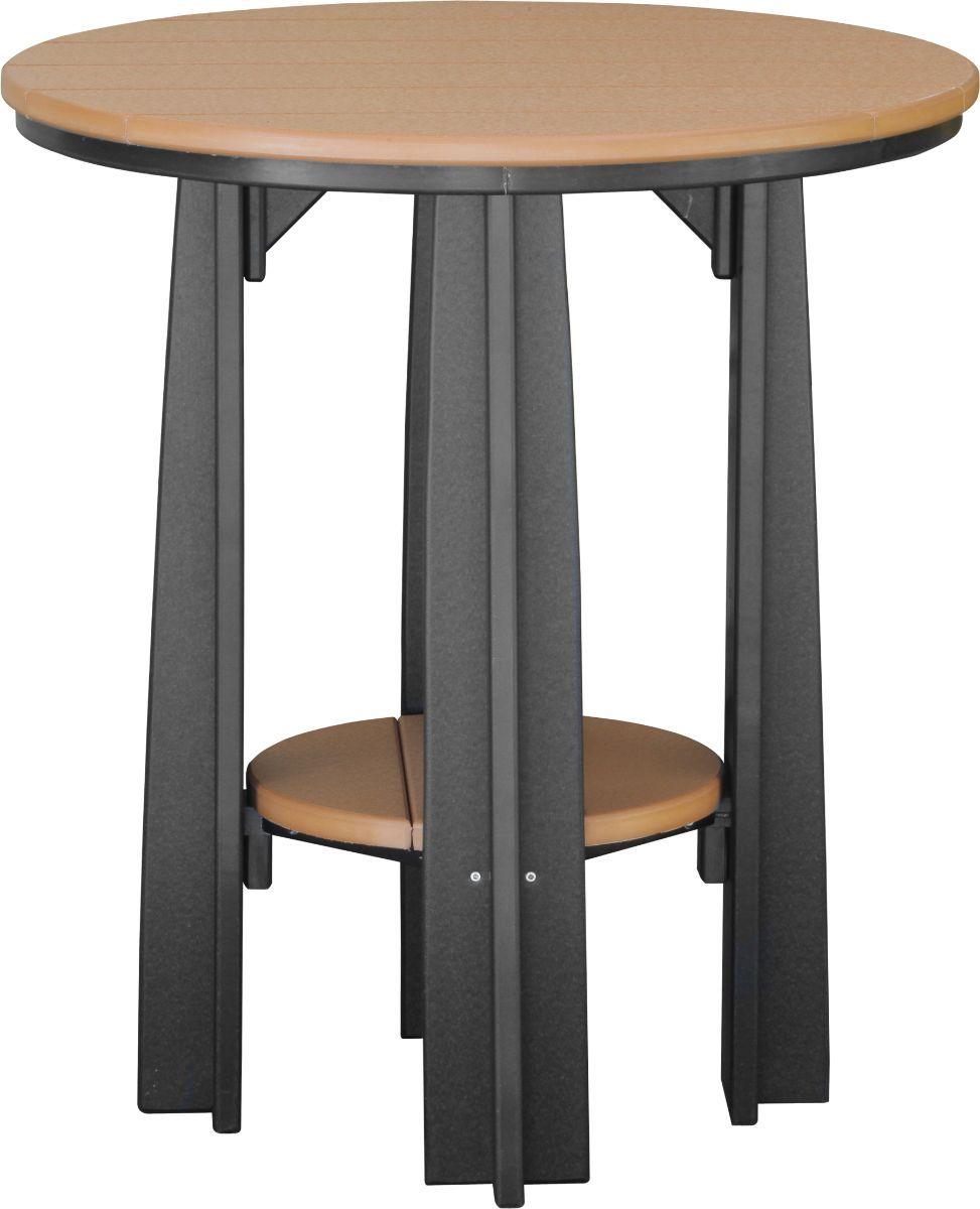 Cedar and Black Tahiti Balcony Table