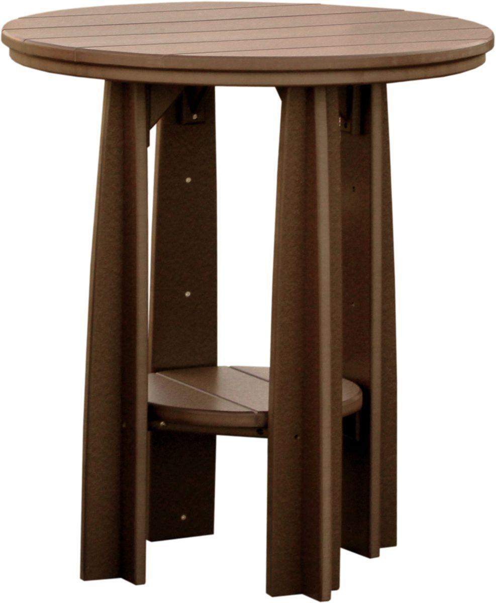 Chestnut Brown Tahiti Balcony Table