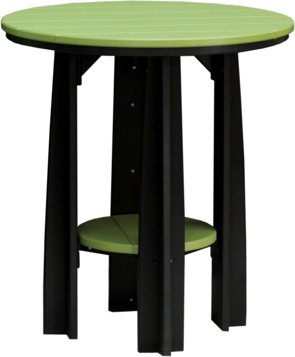Lime Green and Black Tahiti Balcony Table