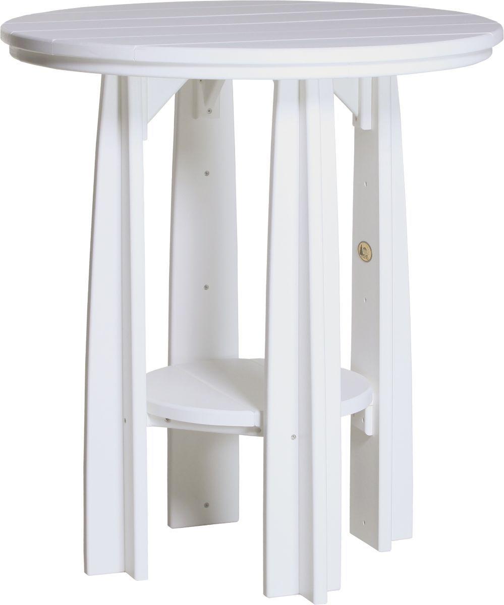 White Tahiti Balcony Table