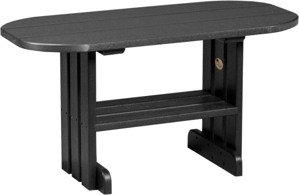 Black Tahiti Outdoor Coffee Table