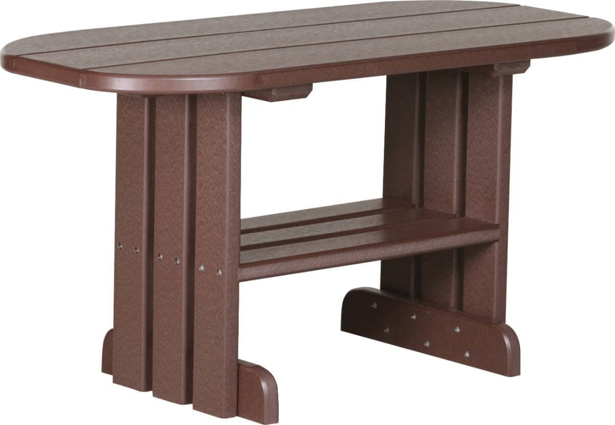 Chestnut Brown Tahiti Outdoor Coffee Table