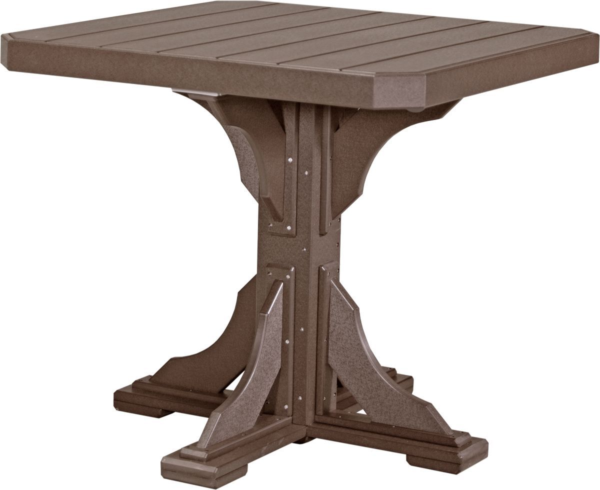 Chestnut Brown Tahiti Outdoor Bar Table