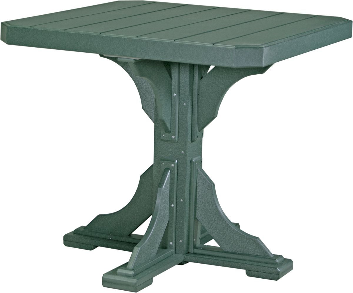 Green Tahiti Outdoor Bar Table