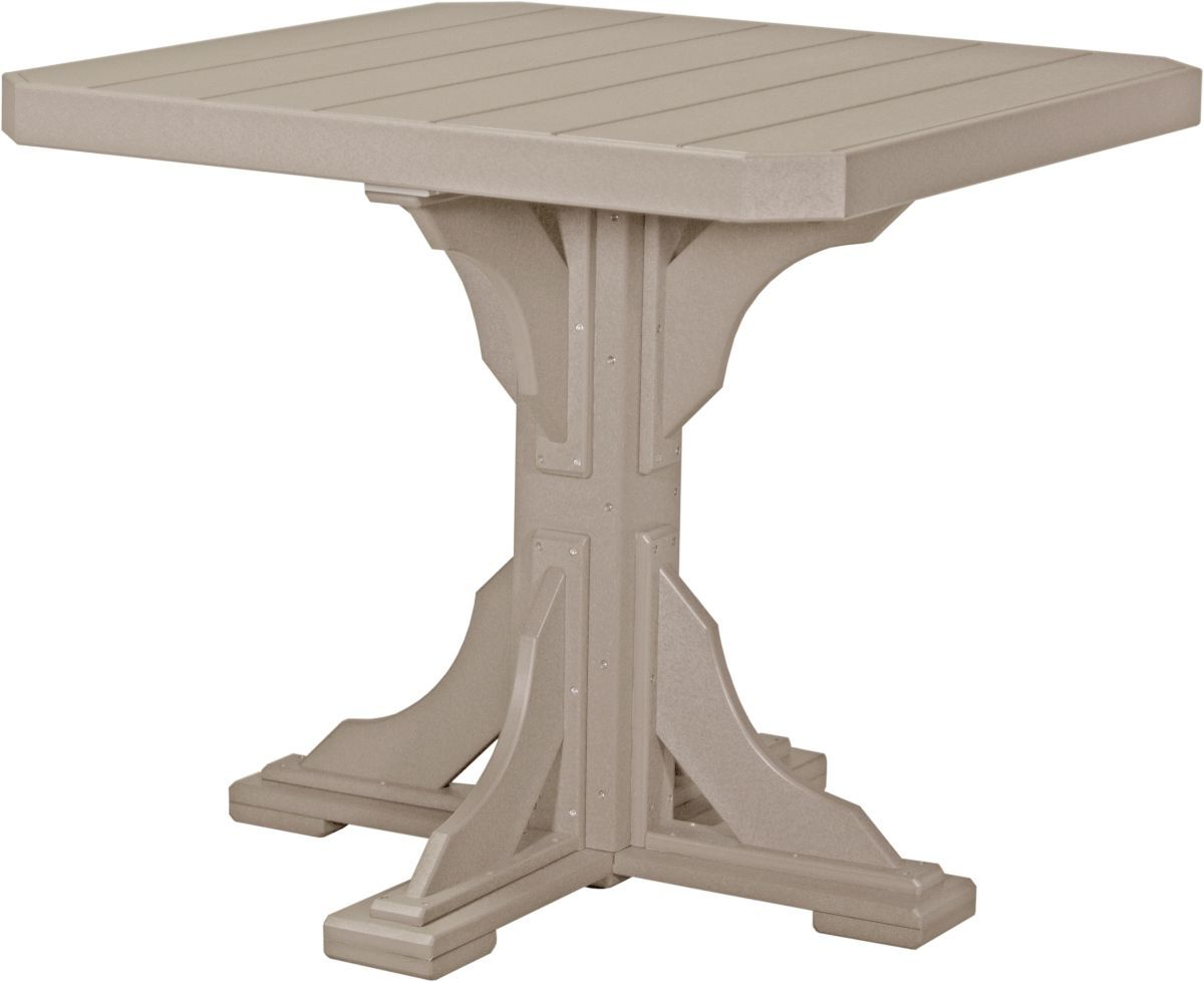 Weatherwood Tahiti Outdoor Bar Table