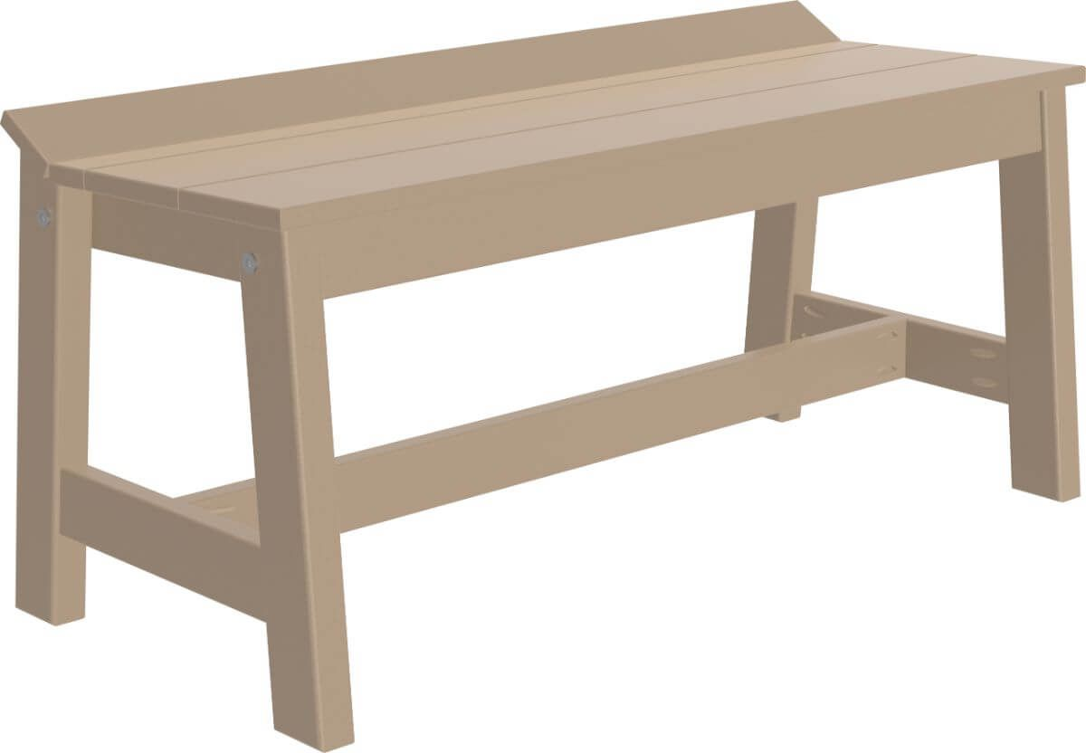 Weatherwood Stockton Outdoor Dining Bench