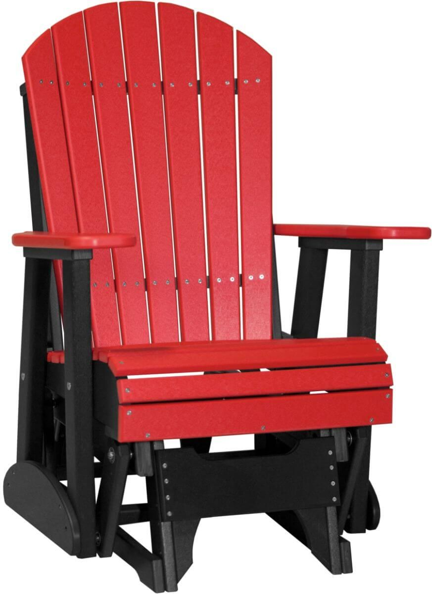 Red and Black Tahiti Outdoor Glider