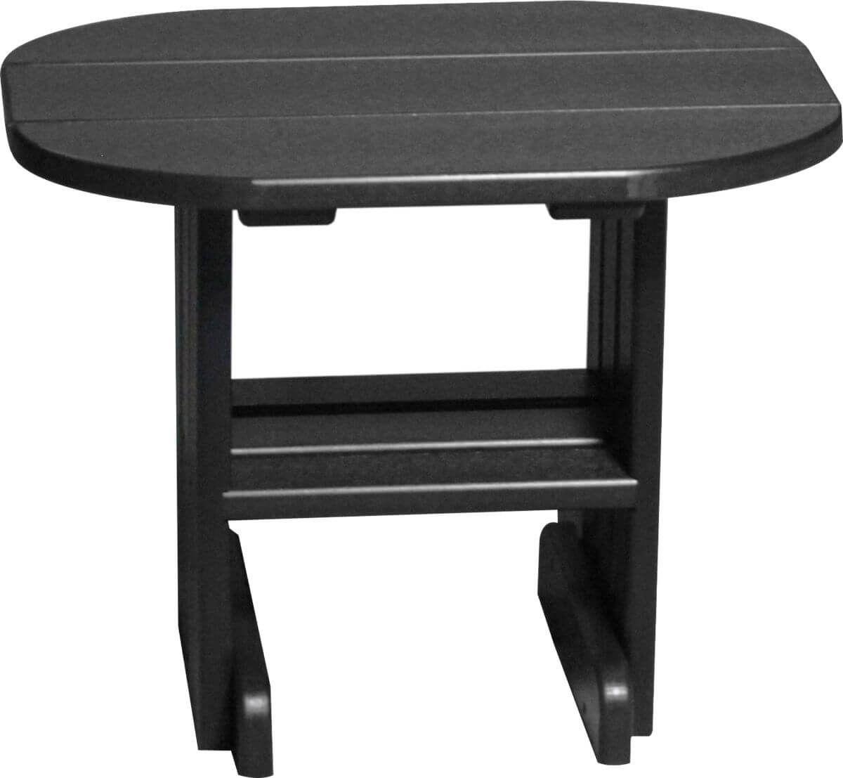 Black Tahiti Outdoor Side Table
