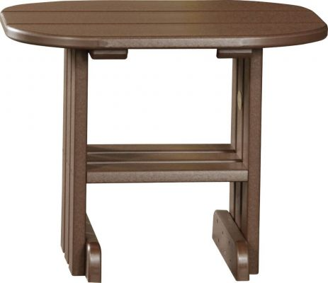 Chestnut Brown Tahiti Outdoor Side Table