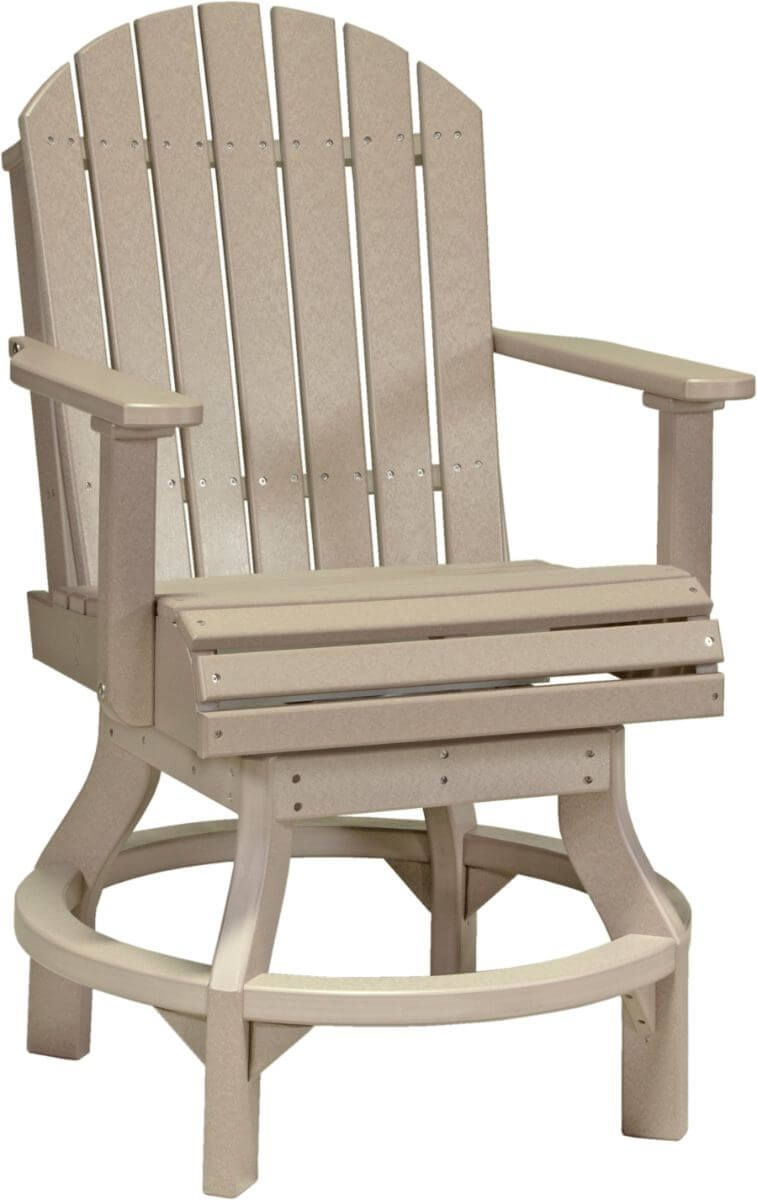 Weatherwood Tahiti Outdoor Swivel Bar Chair