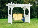 Amish Made Swing and Arbor