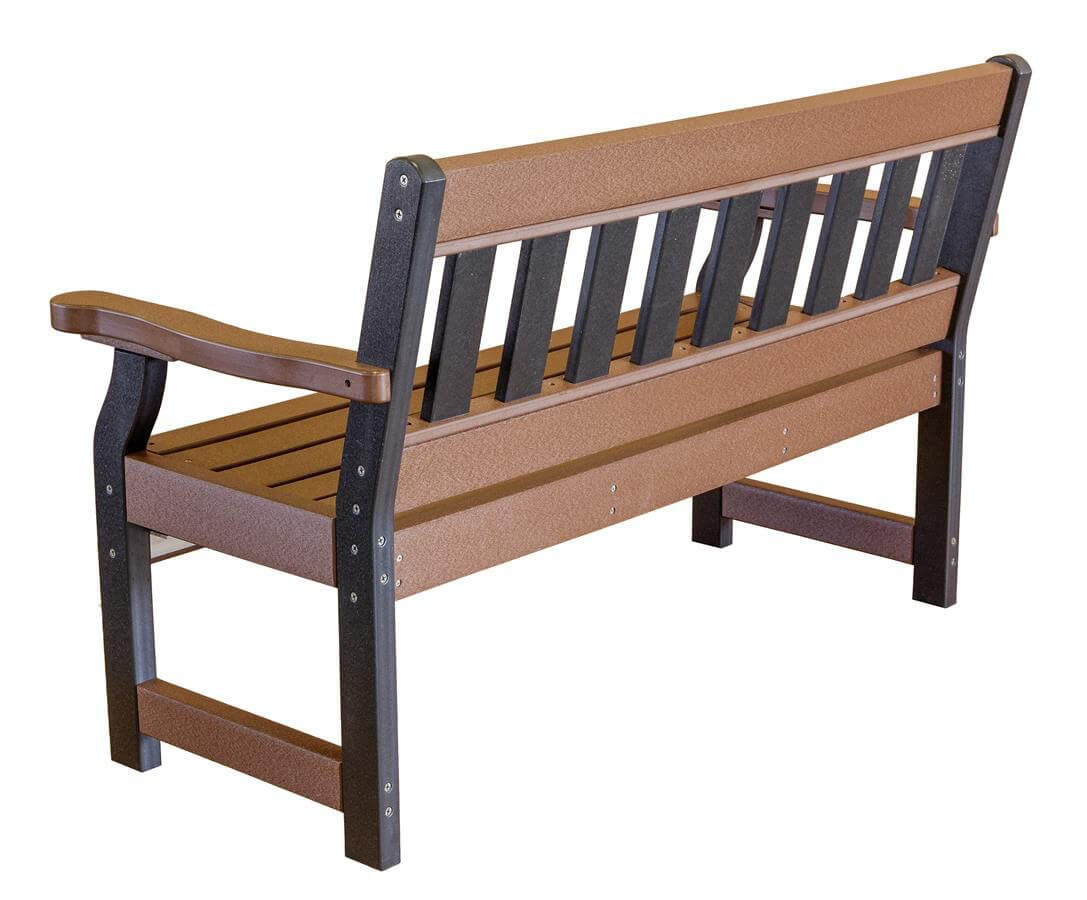 Aden Garden Bench - Back