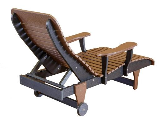 Andaman Outdoor Chaise Lounge - Back