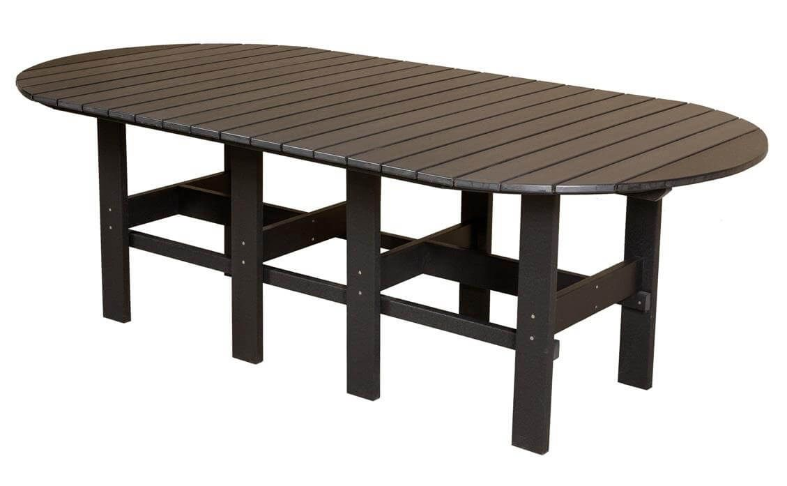 Black Aniva Outdoor Dining Table
