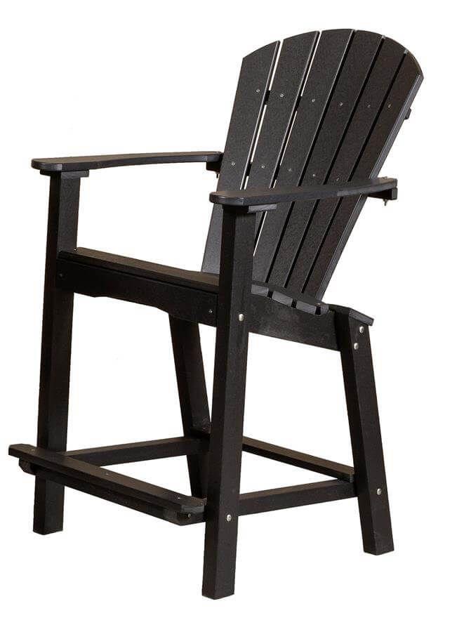 Panama Bar High Outdoor Dining Chair